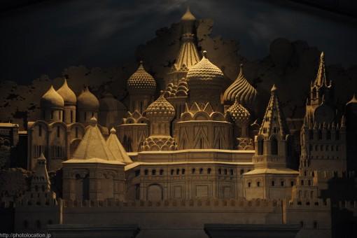 砂でできたお城