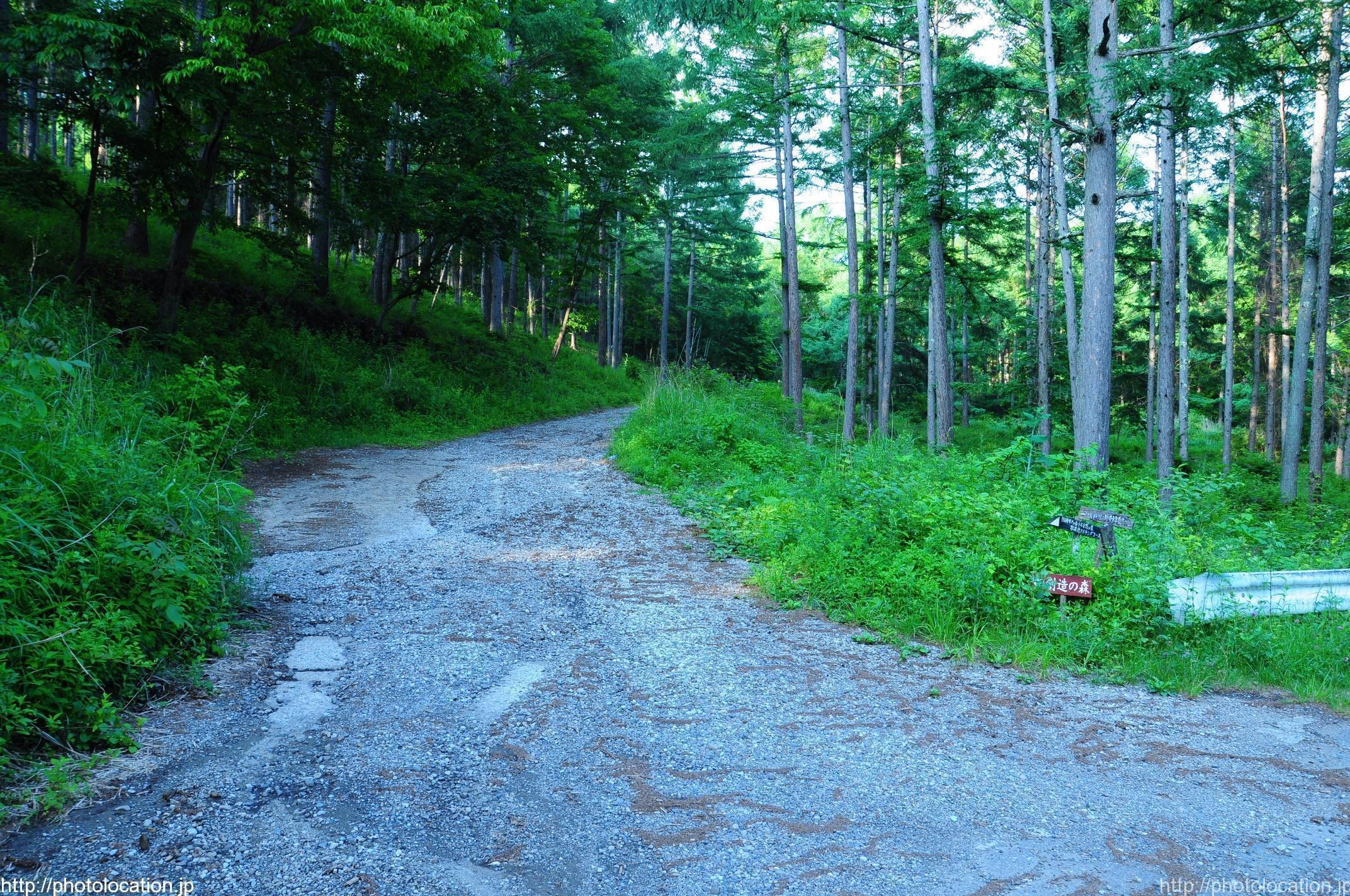 登山道ルート
